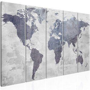 panneau acoustics carte du monde