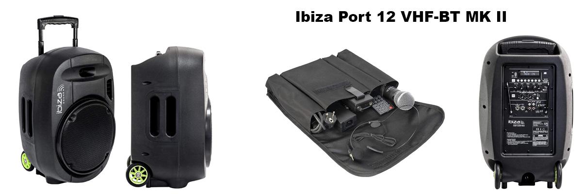 sono portable Ibiza sound port vhf mk 2