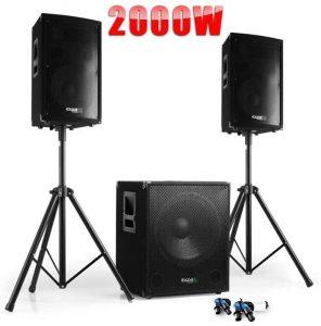pack sono DJ Ibiza cube 1512