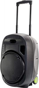 nouvelle sono portable Ibiza port VHF 15 Mk 2