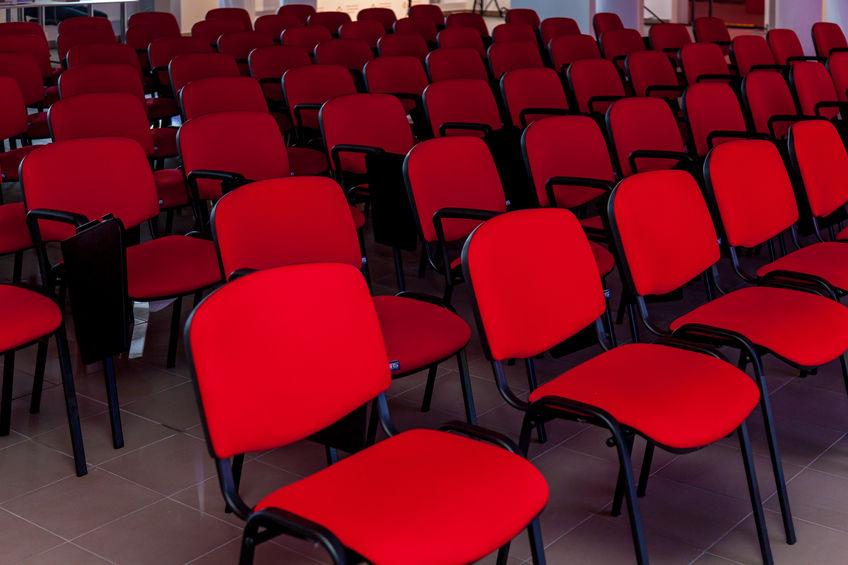 mobilier pour l'organisation d'un séminaire entreprise