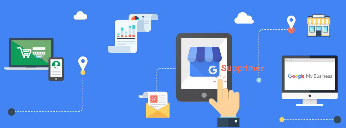 supprimer mon compte google my business